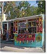 Gift Shop In Key West Acrylic Print