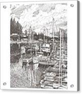 Gig Harbor Entrance Acrylic Print
