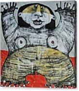 Gigantes No. 7 Acrylic Print by Mark M  Mellon