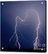Gila Bend Double Grounded Bolt Acrylic Print