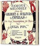 Gilbert And Sullivan Operas Acrylic Print