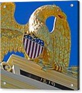 Gilded Eagle Acrylic Print