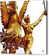Gilded Glory Acrylic Print