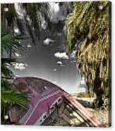 Gilligans Island Black And White 1 Acrylic Print