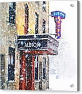 Gimme Shelter Acrylic Print