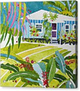 Ginger Cottage Acrylic Print
