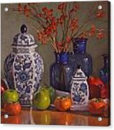 Ginger Jars Acrylic Print
