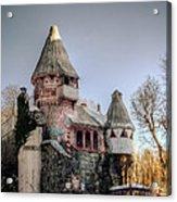Gingerbread Castle Acrylic Print