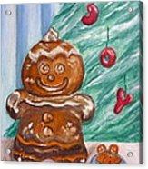 Gingerbread Cookies Acrylic Print