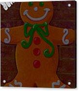 Gingerbread Greetings Acrylic Print