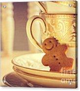 Gingerbread Man Acrylic Print
