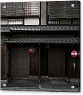 Gion Geisha District Of Kyoto Japan Acrylic Print