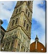 Giotto Campanile Tower In Florence Italy Acrylic Print