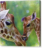 Mom And Me Acrylic Print