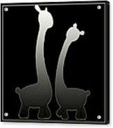 Giraffes... Acrylic Print