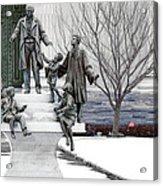 Girard And His Orphans Acrylic Print