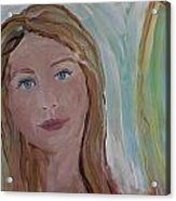 Girl In The Sun Acrylic Print by Made by Marley