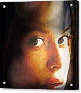 Girl Sans Variant Acrylic Print