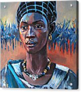 Girl South Sudan Acrylic Print