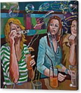 Girls Party Acrylic Print