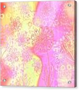 Girlz Only Abstract Acrylic Print