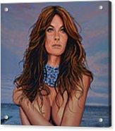 Gisele Bundchen Painting Acrylic Print