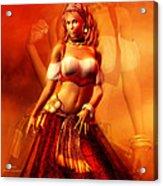 Gitana Acrylic Print
