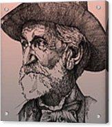 Giuseppe Verdi Acrylic Print