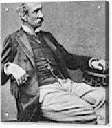 Giuseppe Zanardelli (1824-1903) Acrylic Print