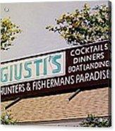 Giusti's In The Sacramento San Joaquin Delta Acrylic Print