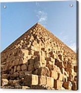Giza Pyramid Detail Acrylic Print by Jane Rix