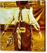 Gizmo The Rodeo Clown Acrylic Print