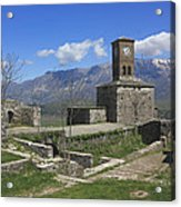 Gjirokaster Castle Albania  Acrylic Print