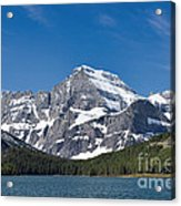 Glacier National Park Mountain Acrylic Print
