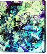 Glacial Earth Acrylic Print