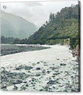 Glacial River Acrylic Print