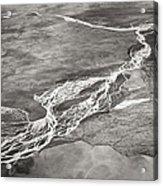Glacial Rivers Acrylic Print