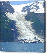 Glacial Spillover Acrylic Print