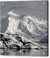 Glaciated Peaks Anvers Isl Antarctica Acrylic Print