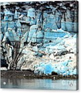 Glacier And Sediments Acrylic Print