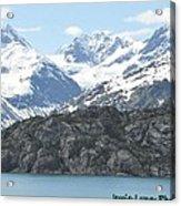 Glacier Bay National Park Acrylic Print