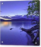 Glacier Blue Acrylic Print