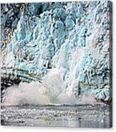 Glacier Calving Margerie Acrylic Print