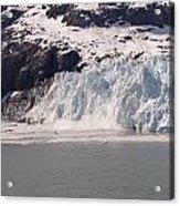 Glacier Falling Into Bay Acrylic Print