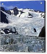 Glacier From Up High Acrylic Print