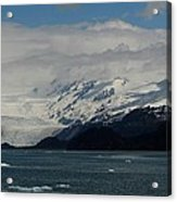 Glacier In Prince William Sound Acrylic Print