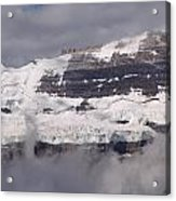 Victoria Glacier Mist - Lake Louise, Alberta Acrylic Print