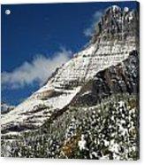 Glacier Mountains Acrylic Print