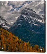 Glacier National Park Big Bend Acrylic Print