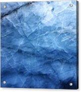 Glacier Of Glass Acrylic Print